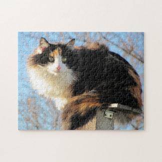 "Puma in ""Better View"" by djoneill Jigsaw Puzzle"