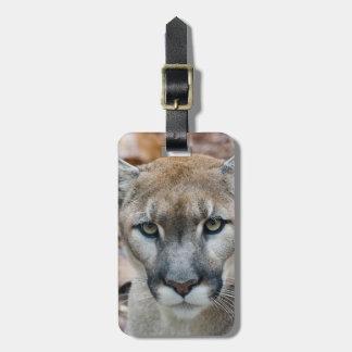 Puma, león de montaña, pantera de la Florida, puma Etiquetas De Maletas