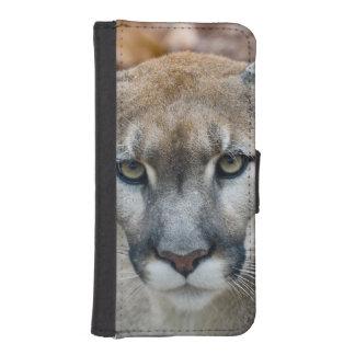 Puma, león de montaña, pantera de la Florida, puma Cartera Para iPhone 5
