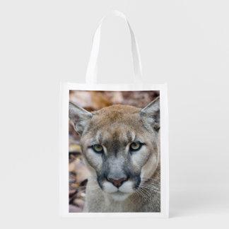 Puma, león de montaña, pantera de la Florida, puma Bolsas Reutilizables