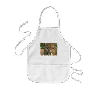 Puma Mountain Cat Children s Smock Apron