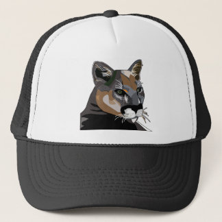 Puma,Mountain Lion,Cougar Trucker Hat