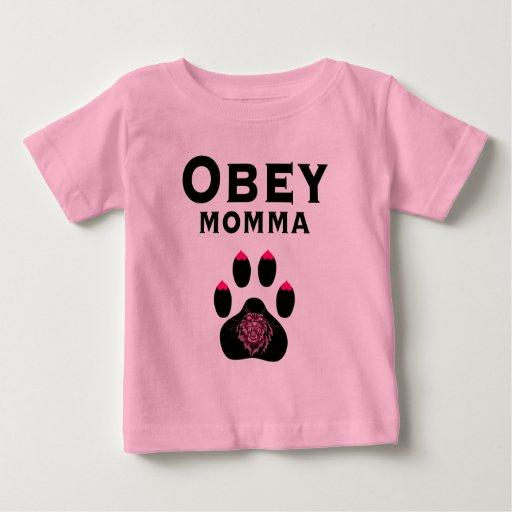 Puma: Obedezca Momma Remeras