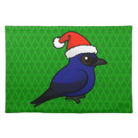 Purple Martin Christmas Placemat 20