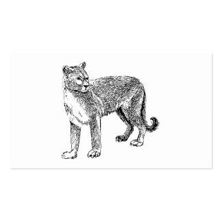 Puma Tarjetas De Visita