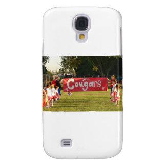 Pumas de la liga de fútbol de Sheldon debajo de 8 Funda Para Galaxy S4