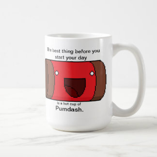 Pumdash Daily Bliss Statement Coffee Mug