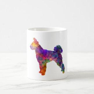 Pumi in watercolor 2 coffee mug