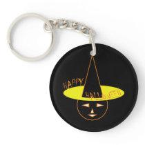 Pumkin Acrylic Keychain