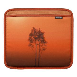 Pumkin Orange Trees Sunrise Nature Photo Art iPad iPad Sleeve