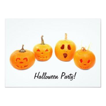 SporkfulDesigns Pumkin Photography Halloween Party Invitation