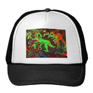pump atomika trucker hats