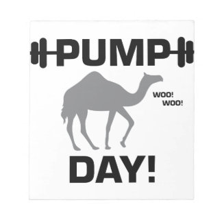 Pump Day Notepad