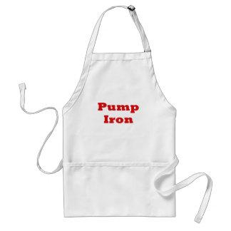 Pump Iron Adult Apron