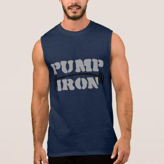 Pump iron Gym and Fitness Sleeveless Shirt