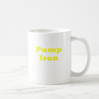 Pump Iron Coffee Mugs