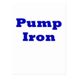 Pump Iron Post Cards