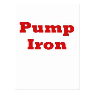 Pump Iron Postcards