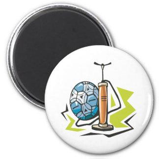 Pump It Up 2 Inch Round Magnet