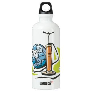 Pump It Up Aluminum Water Bottle