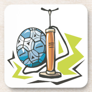 Pump It Up Beverage Coaster