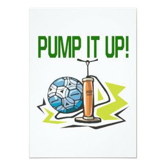 Pump It Up Card