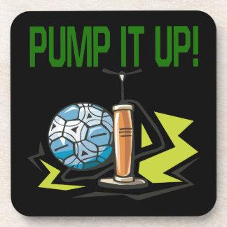 Pump It Up Coaster
