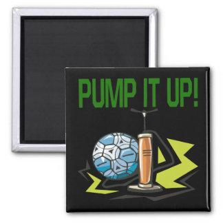 Pump It Up Fridge Magnets