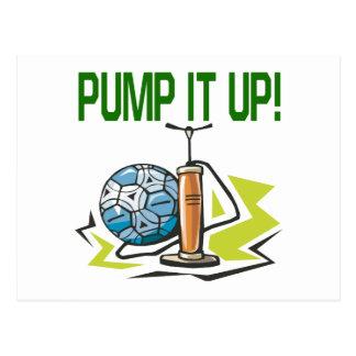 Pump It Up Postcard