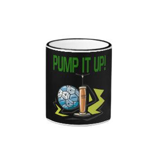 Pump It Up Ringer Mug