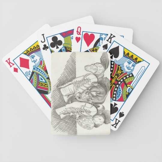 Pump Kin Patch Bicycle Playing Cards