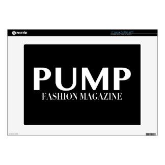 """PUMP Magazine Logo Products Decals For 15"""" Laptops"""