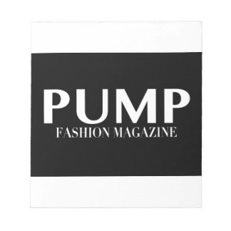 PUMP Magazine Notepad
