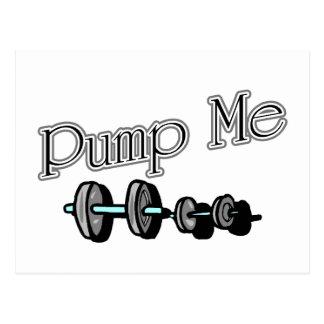 Pump Me Postcard