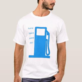 Pump Space Leases Now!- Fuel pump (blue) T-Shirt