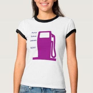 Pump Space Leases Now!-Fuel Pump (purple) Women's T-Shirt