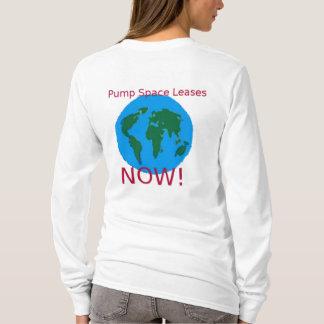 Pump Space Leases Now!-Global Women's Hoodie