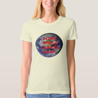 Pump Space Leases Now -  (red) Tee Shirt