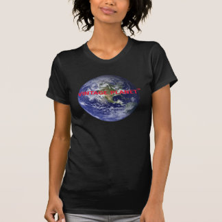 Pump Space Leases Now - Vintage Planet (red) T-Shirt