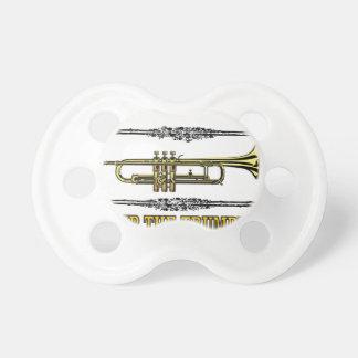 pump the trumpet art pacifier