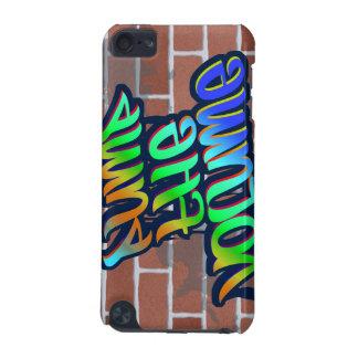 pump the volume graffiti ghetto design iPod touch (5th generation) cover