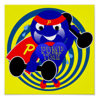 Pump Time Poster