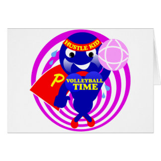 Pump Time Volleyball Time Card