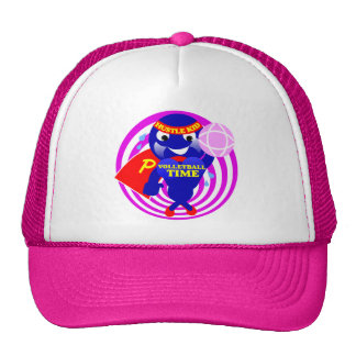Pump Time Volleyball Time Trucker Hat