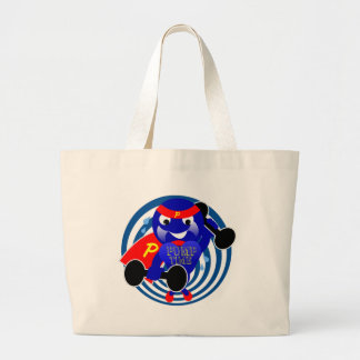 Pump Time Weightlifter Large Tote Bag