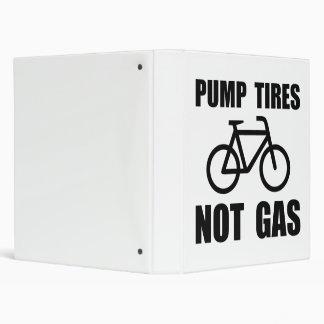 Pump Tires 3 Ring Binders