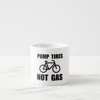 Pump Tires 6 Oz Ceramic Espresso Cup