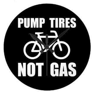 Pump Tires Clocks