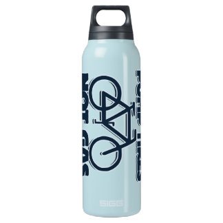 Pump Tires not Gas 16 Oz Insulated SIGG Thermos Water Bottle