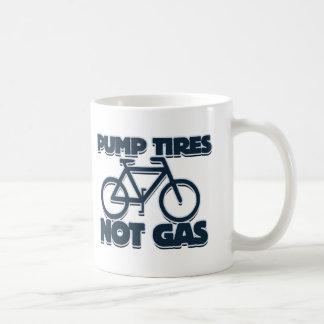 Pump Tires not Gas Classic White Coffee Mug